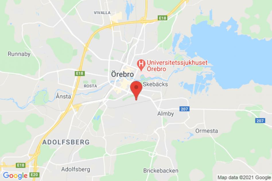 3:a centralt  i Örebro