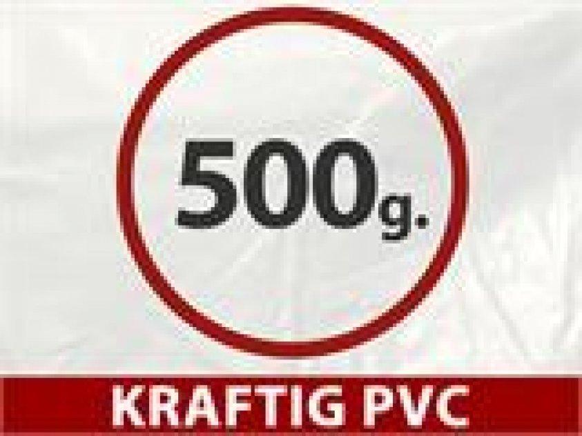 Lagertält PRO 5 x 10 x 2 x 3,39 m 500g P