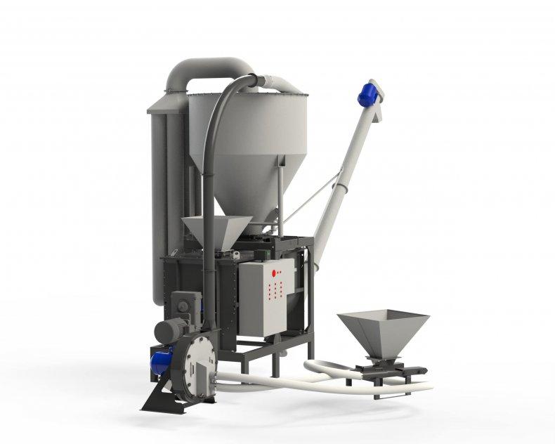Djurfoder Produktionslinje MKK 1,5 t/h