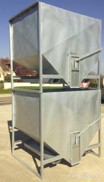 Kornbehållare 2m3 | Kornbunker