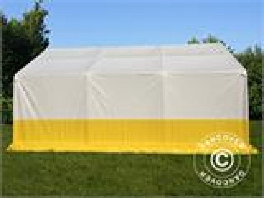 Förvaringsarbetstält Pro 4 x 6 m PVC Vit
