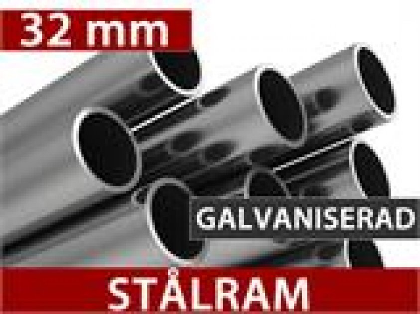 Garagetält Basic 3,3 x 4,8 x 2,4 m 3546:
