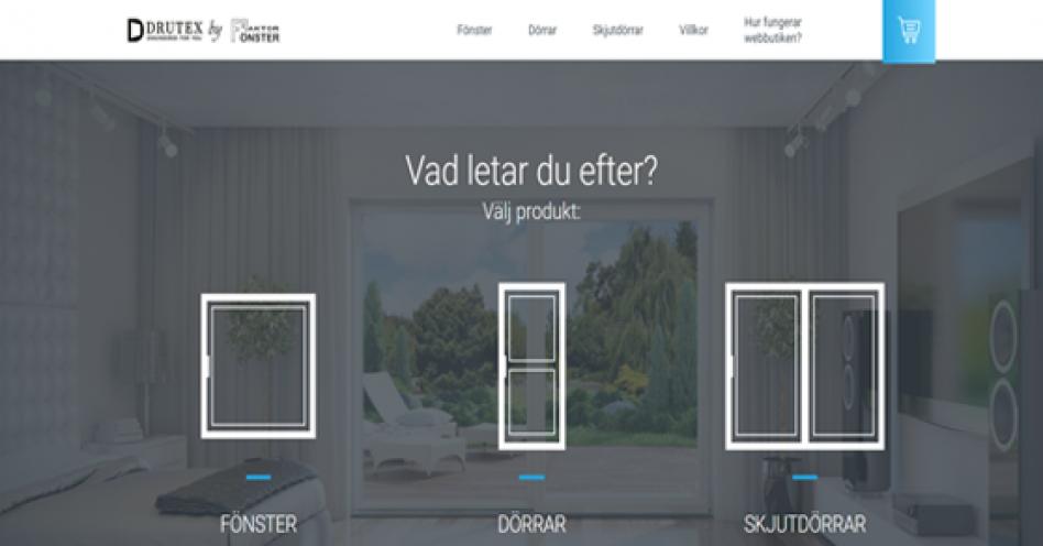 Fönster Dörrar webshop
