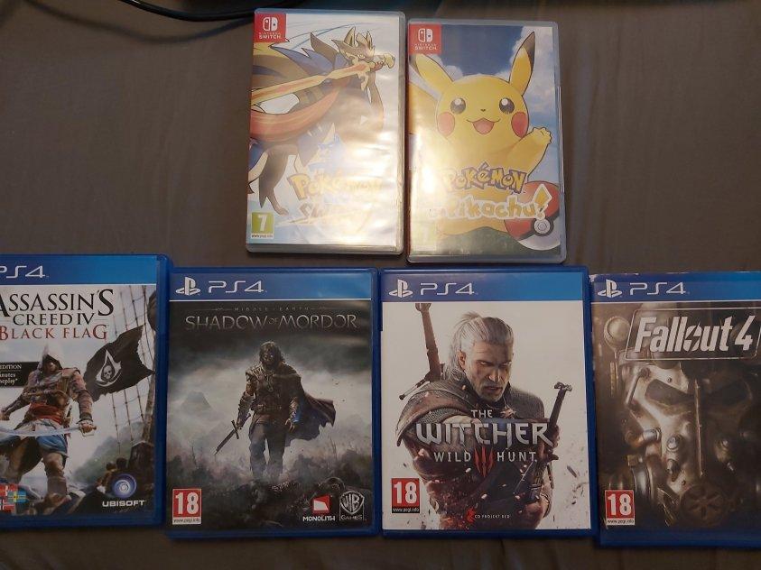 Spel till PS4 och Nintendo Switch