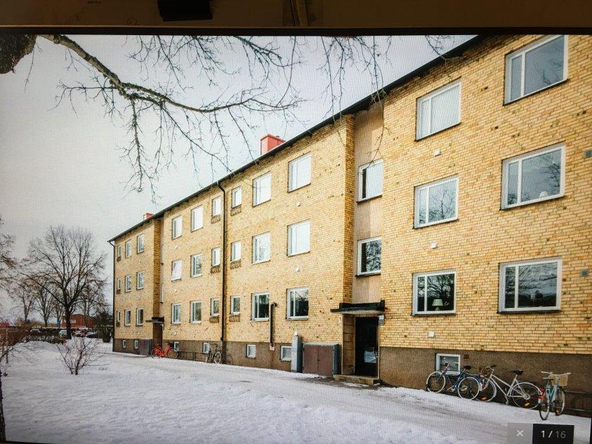 2:a på 58m² i Falköping,Avgift 3351kr/m.
