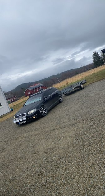 Fin Audi A6 A-Traktor