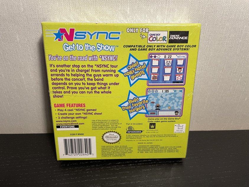 NSYNC - Gameboy Color