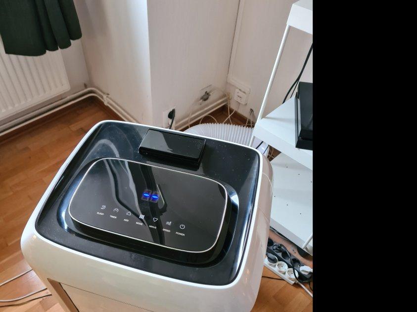 Portabel AC för 50m² med WIFI och värme