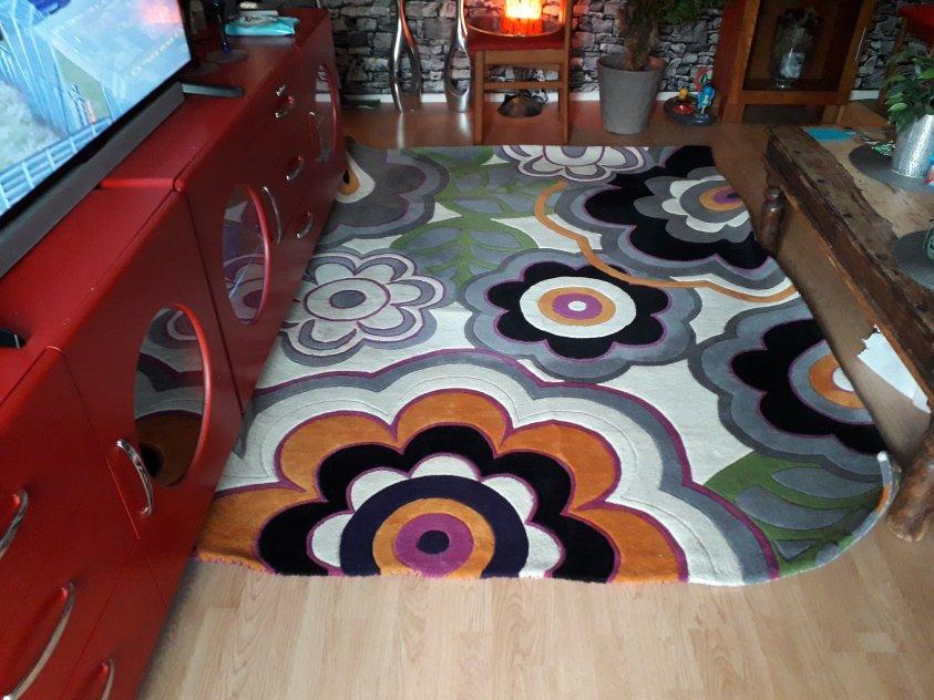 Matta äkta 170x240cm olika färger
