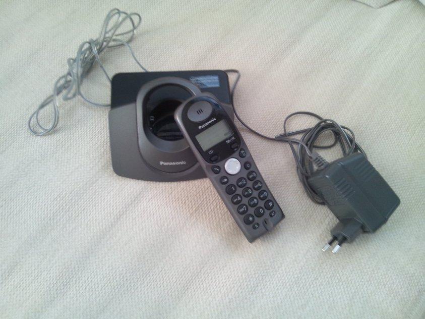 Trådlös telefon Panasonic KX-TGA110EX