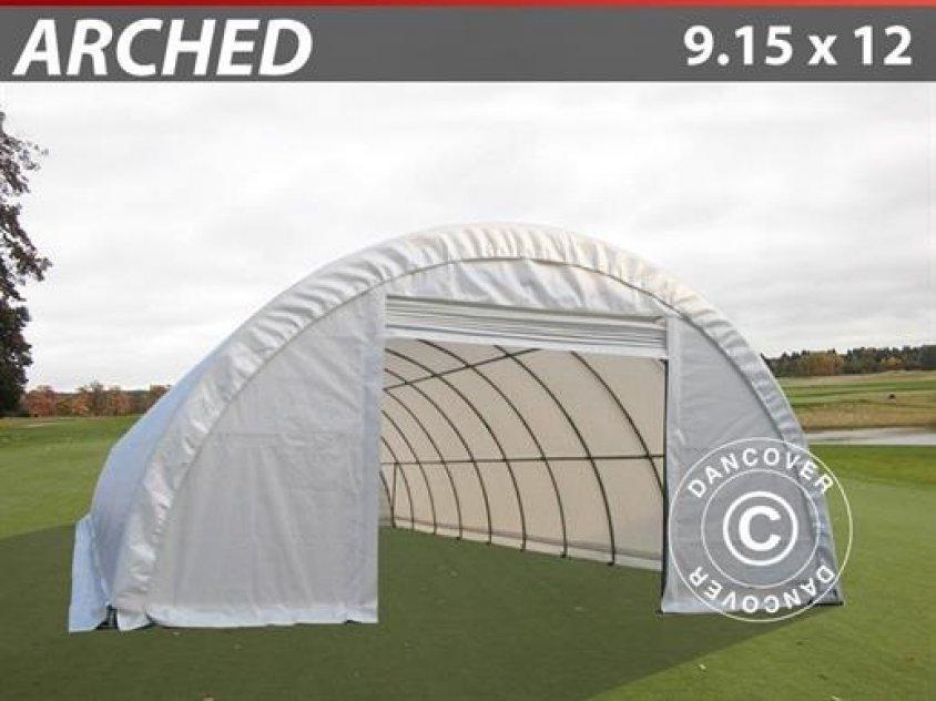 Rundbågehall  9,15 x 12 x 4,50 PVC (600