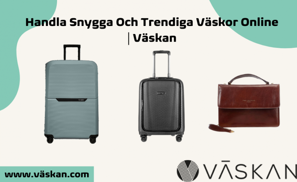 Handla snygga och trendiga väskor online
