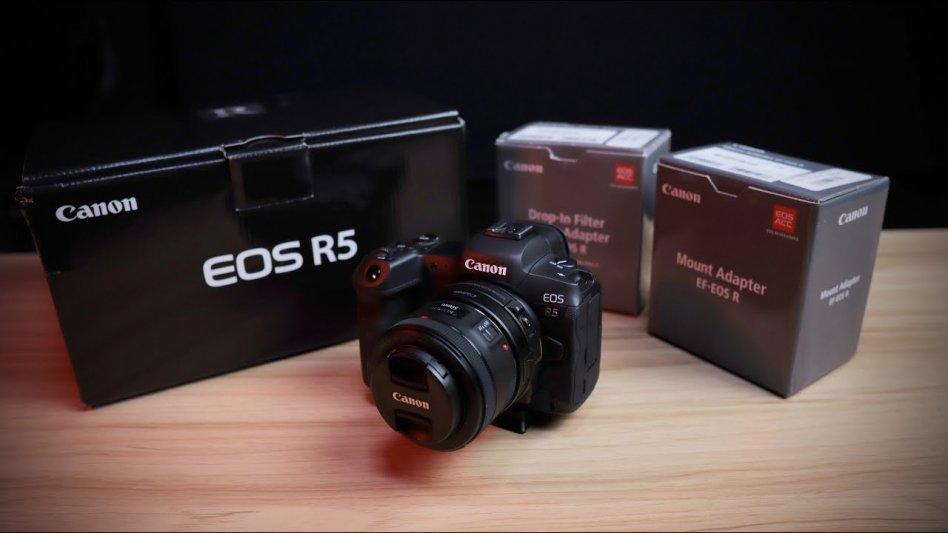 Canon EOS R5-kamera