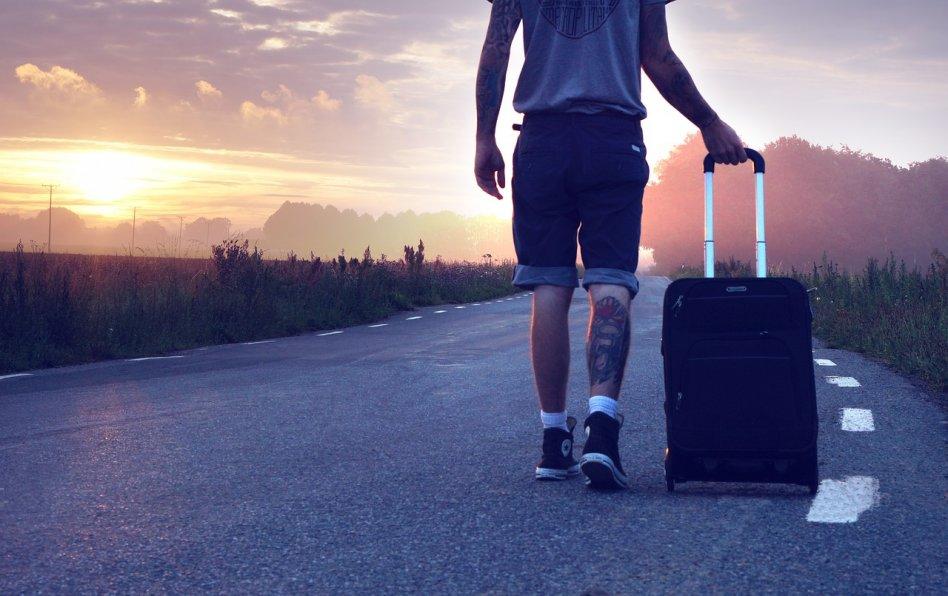 En resväska - det bästa bagaget för vart