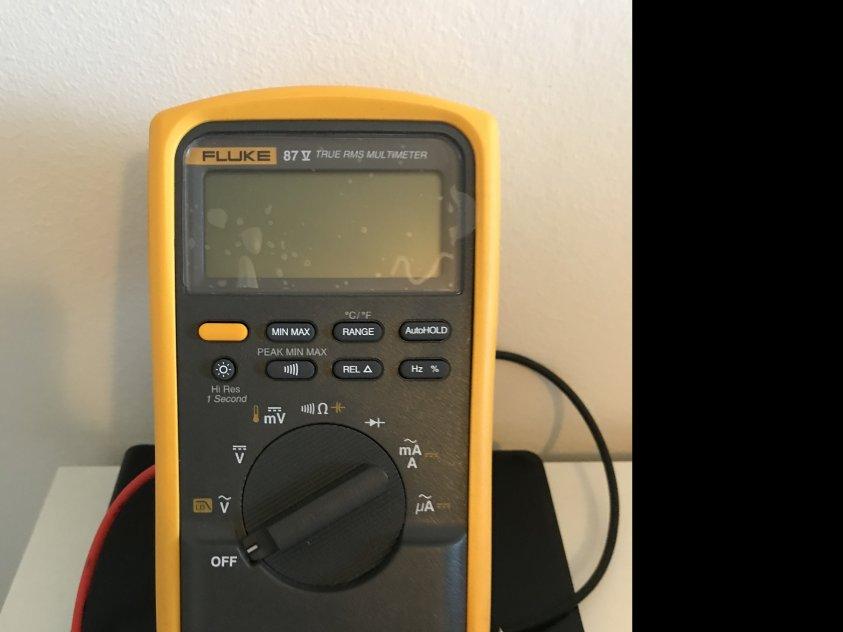 Multimeter fluke 87 v