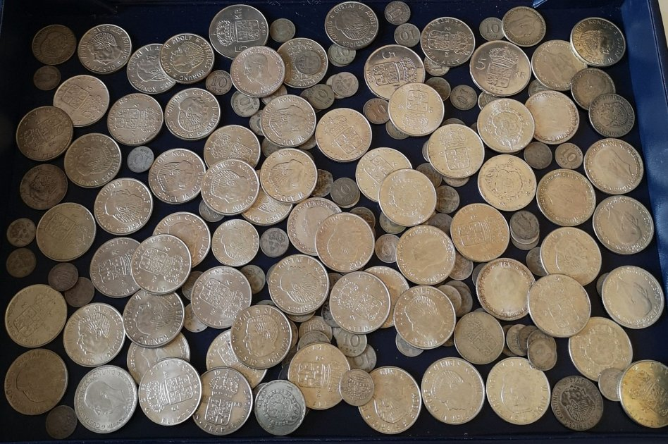 Svenska silvermynt