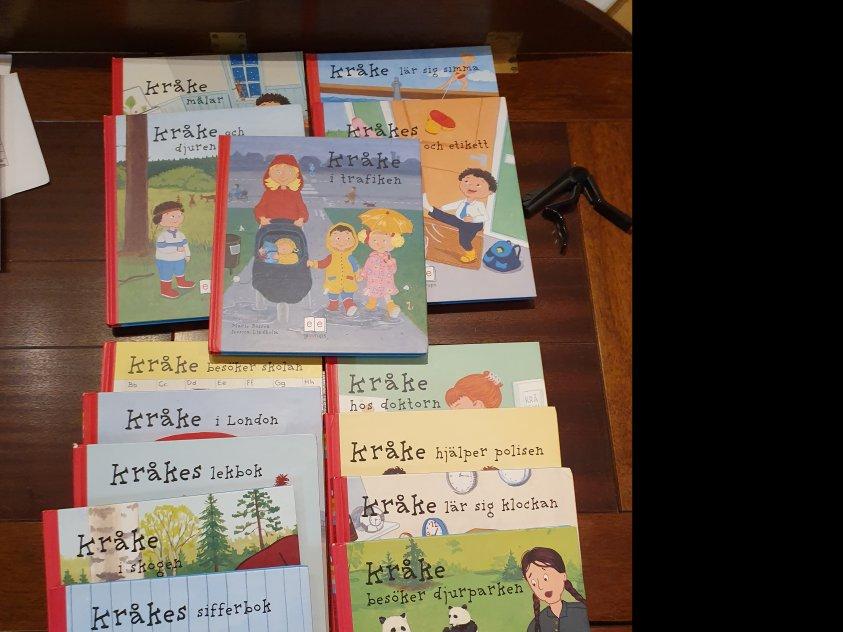 Kråkeböcker, förskoleåldern