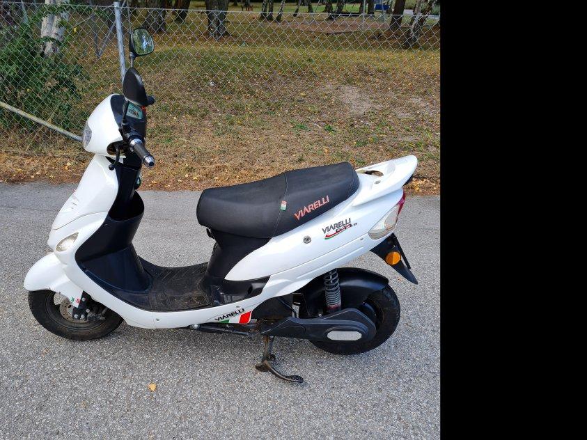 El-moped Viarelli GT1e