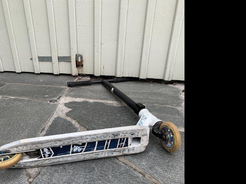 Sparkcykel och Skateboard Mini Cruiser