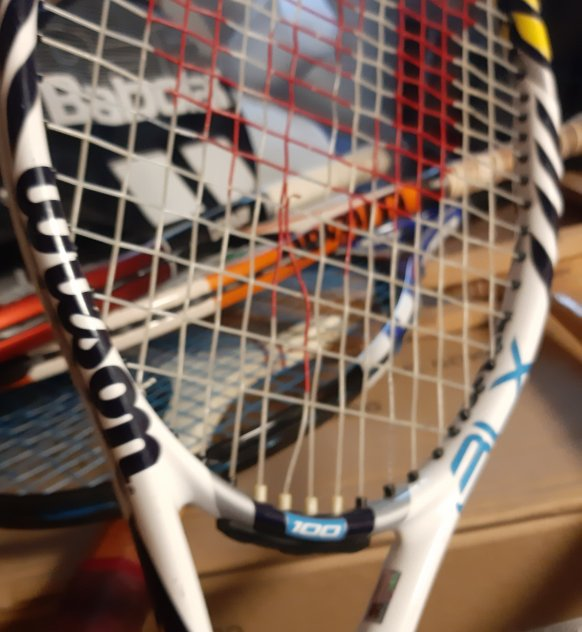 tennisracket vuxen och barn tre olika