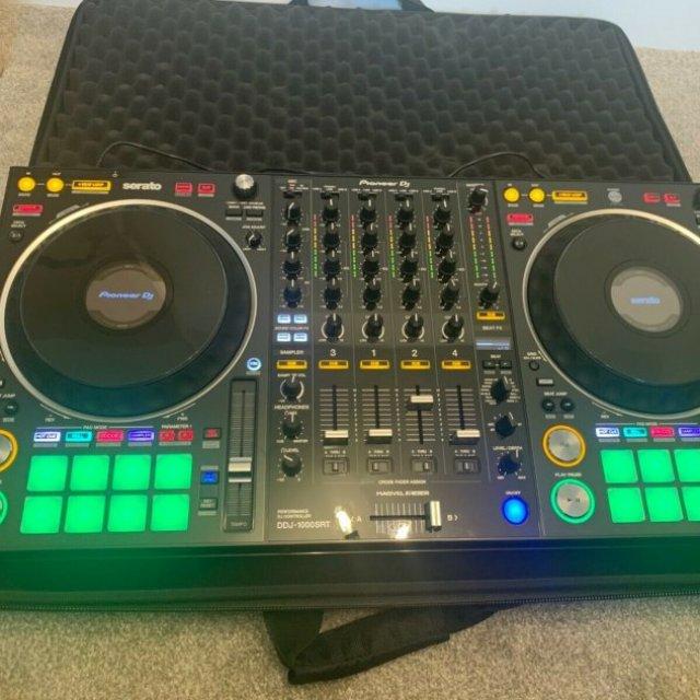 Helt ny Pioneer DJ DDJ-1000SRT 4-kanals Professional DJ Controller för rekordbox dj