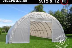Rundbågehall 9,15 x 12 x 4,5 m PE 300 g/