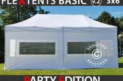 FleXtents BASIC 3 x 6 m inkl 6 st sidor