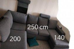 Soffa  med nackstöd