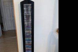 CD ställ inklusive skivor