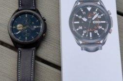 Galaxy Watch 3 45mm LTE - Svart