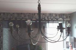 Takkrona 8 lampor