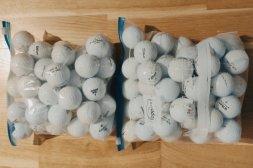 Golfbollar 100 st. (B-klass olika märken