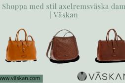 Shoppa med stil axelremsväska dam | Väsk