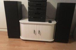 Äldre stereoanläggning