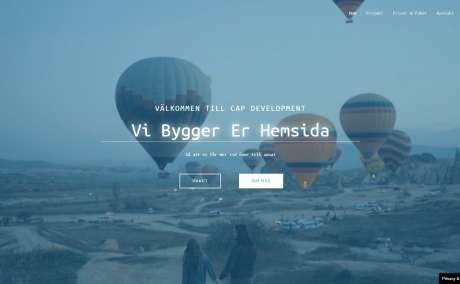 Utveckling av modern responsiv hemsida/webshop - Unik design