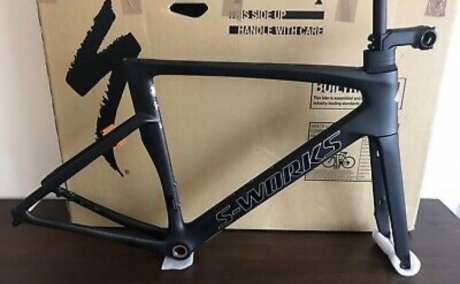 2019 Specialized S Works Venge Disc Frameset med S Works Stem