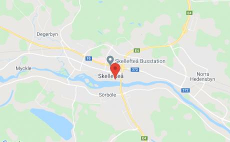 3:a i centrala Skellefteå